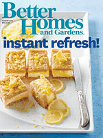 We are featured in Better Homes and Gardens Magazine!